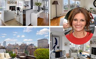 Check out Julia Roberts' (sorta) modest NYC apartment