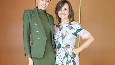 Jesinta Campbell and Lisa Wilkinson turn out to WOTF judges' luncheon