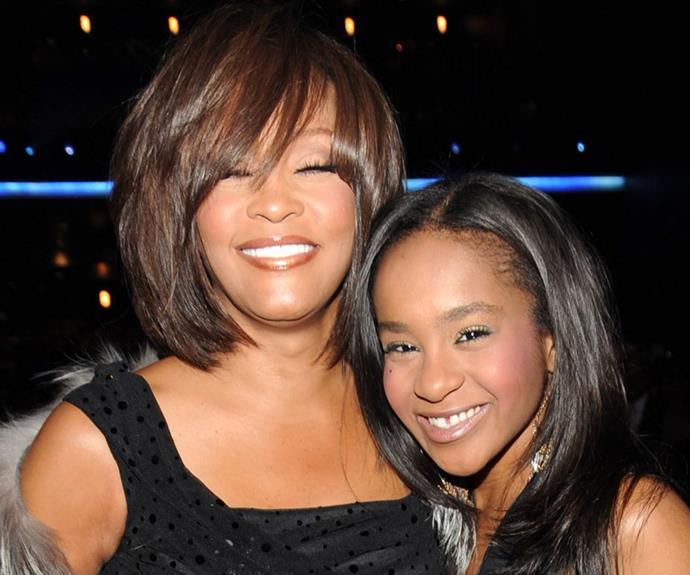 Whitney Houston and daughter Bobbi Kristina