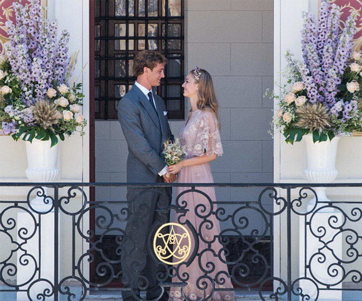 Beatrice Borromeo's wedding in 2015 sent a pleasant shock through the royal community when she stepped out to marry Pierre Casiraghi, Grace Kelly's grandson, in beautiful pink gown.  <br><br> It was a shock because, up until this point, brides marrying into or within royal families were expected to keep to the traditional standard of wedding-wear set down by Queen Victoria of England: white, modest and topped with a tiara.  <br><br> Whilst Beatrice's Valentino Couture gown was modest enough, it was neither white nor tiara-adorned - quite unusual for a royal bride.