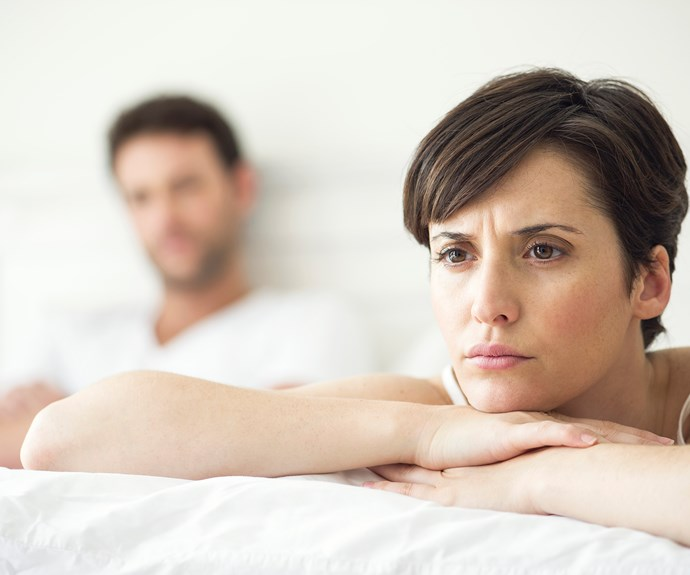 Sex pain is common, but not normal. *(Image: Getty Images)*