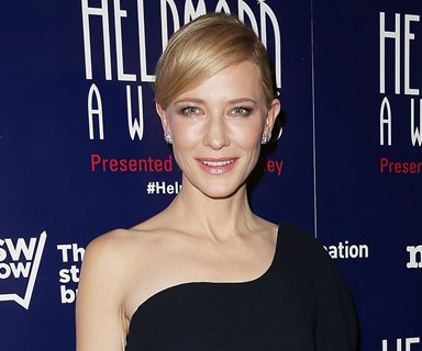 'Sleep-deprived' Cate Blanchett dazzles in LBD