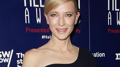 'Sleep-deprived' Cate Blanchett dazzles in LBD