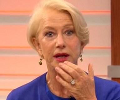 Helen Mirren swears on live TV