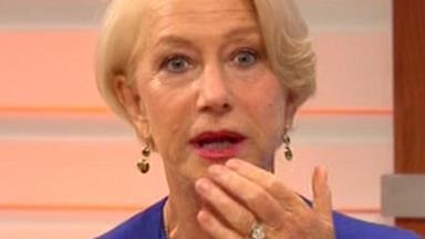 Helen Mirren swears on live TV