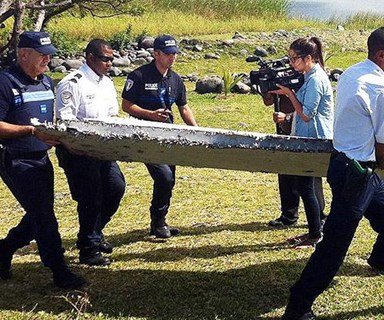 Wreckage found on island is MH370