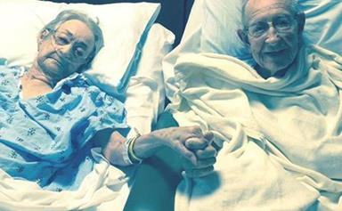 Hospital reunites 96-year-old lovers