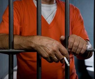Prison smoking ban begins today