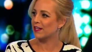 Carrie Bickmore gets emotional speaking about late husband's brain surgery