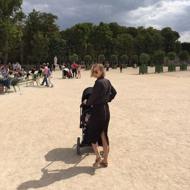 Lara Bingle posts cute picture with baby Rocket Zot