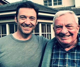 Hugh Jackman: 'My dad is my rock'