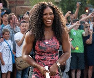 Serena Williams: 'I love how I look'