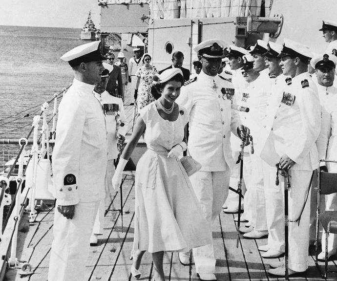 A royal visit: Queen Elizabeth in Australia