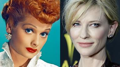 I love Cate! Cate Blanchett to play Lucille Ball in upcoming biopic