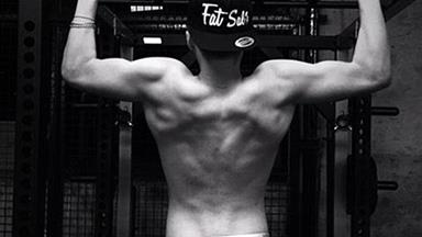 Brooklyn Beckham shows off amazing physique