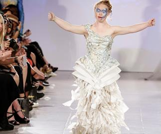 Model with Down Syndrome makes New York Fashion Week debut