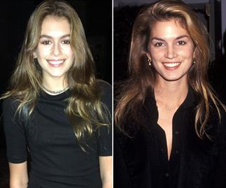 Cindy Crawford's daughter makes fashion week debut