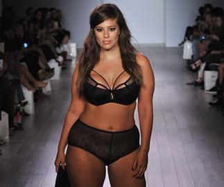 Size 16 model rocks runway at New York Fashion Week