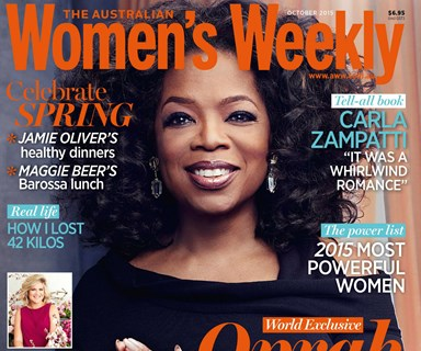 Oprah Winfrey is The Weekly's October cover star