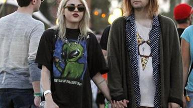 Kurt Cobain's child, Frances Bean Cobain, wed on the weekend