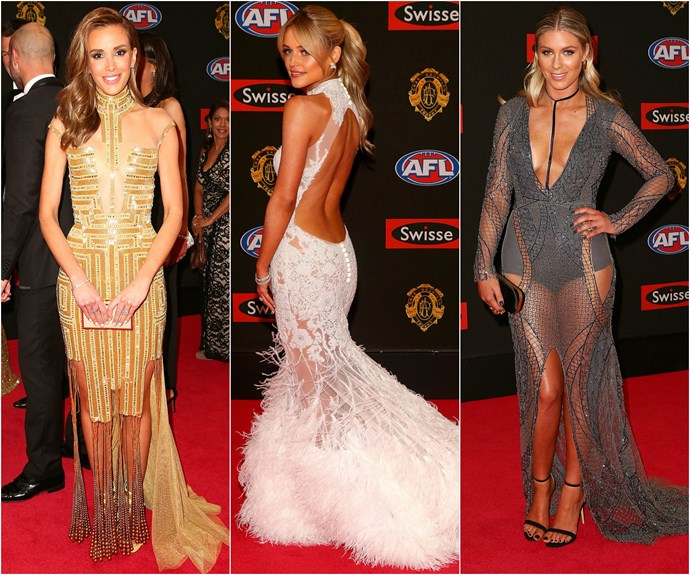 All the glitz and glamour of AFL's night of nights