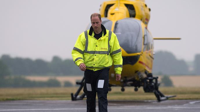 Prince William to the rescue