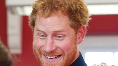 The funny faces of Prince Harry