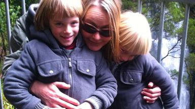 'I went blind overnight when my twins were four'