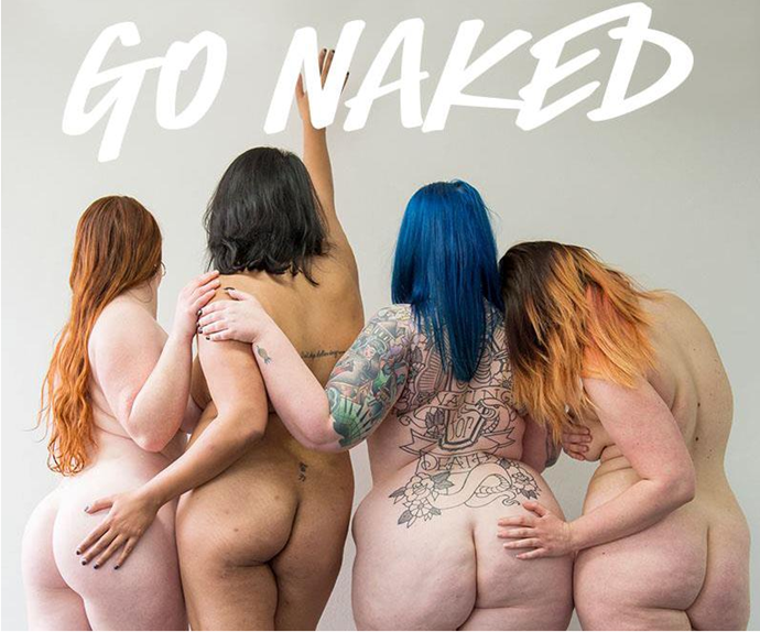 Lush go naked campaign