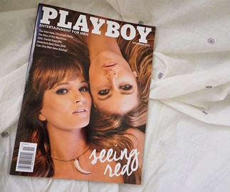 Playboy shying away from nudes in the internet age