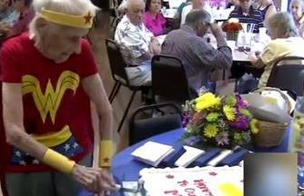 103-year-old 'Wonder Woman' celebrates birthday