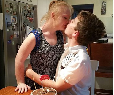 Aussie model with Down syndrome finds love