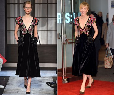 Cate Blanchett's runway to red carpet fashion