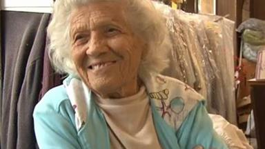100-year-old woman works 11-hour days, six days a week