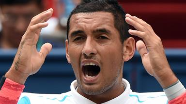 Nick Kyrgios has been placed on detention!