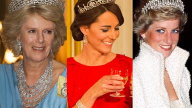 Sparkling royals! The best of royal jewels