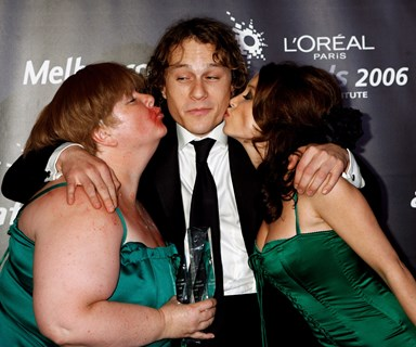 Viral video of late actor Heath Ledger kissing Magda Szubanski resurfaces