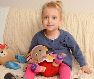 Hundreds offer to adopt British girl with cerebral palsy