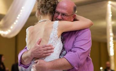 Bride shares wedding dance with donor who saved her life