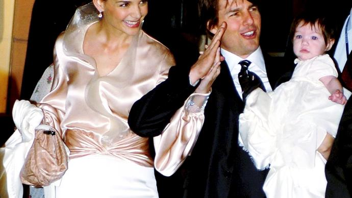 Tom Cruise 'left Suri to cry for hours' at Scientology wedding