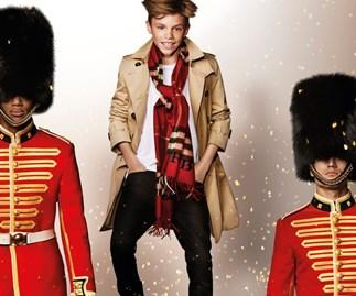 Romeo Beckham's gorgeous new Burberry campaign
