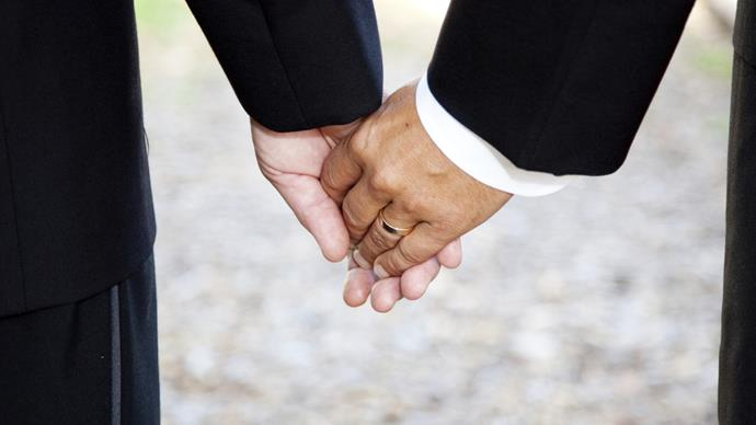 Father and son fight for adoption to be dissolved so they can marry