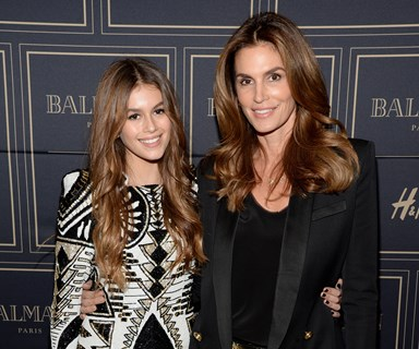 Kaia Gerber channels her model mum Cindy Crawford