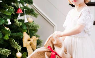 Simple Santa sacks for your kids