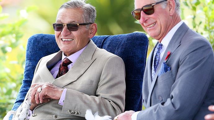 Charles' royal welcome: Maori King honours Prince Charles