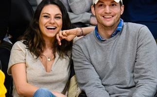 Ashton Kutcher shares first photo of daughter Wyatt