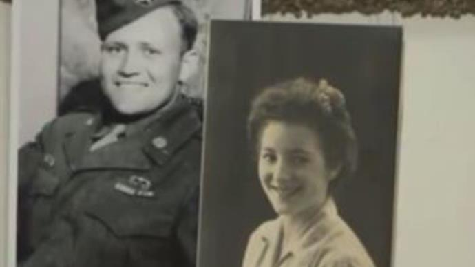 93-year-old soldier reunited with his first love after 70 years apart