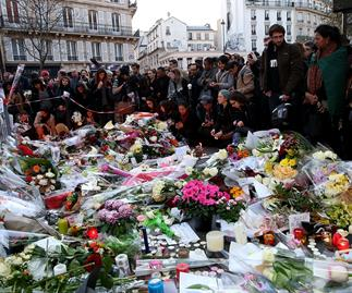 paris mourns terror attack
