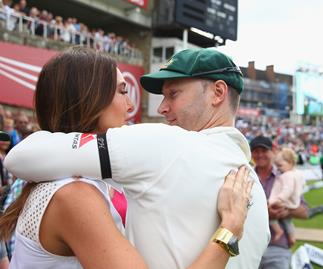 Kyly and Michael Clarke reveal name of baby girl