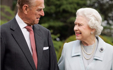 Queen Elizabeth and Prince Philip celebrate their 69th wedding anniversary